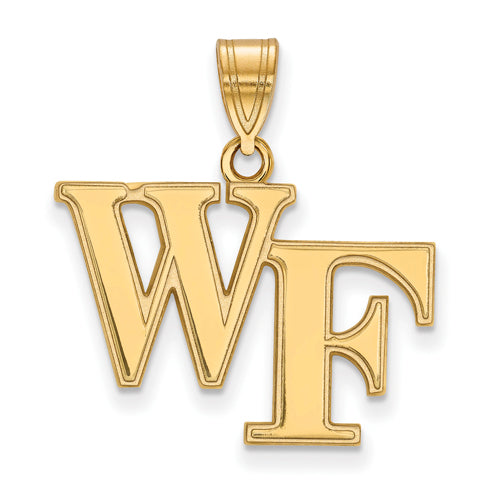 14ky Wake Forest University Medium WF Pendant