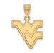 10ky West Virginia University Medium Pendant