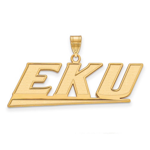 SS w/GP Eastern Kentucky University Large EKU Pendant