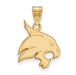 10ky Texas State University Large Bobcat Pendant