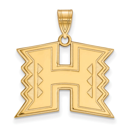 SS w/GP The University of Hawaii Large Pendant