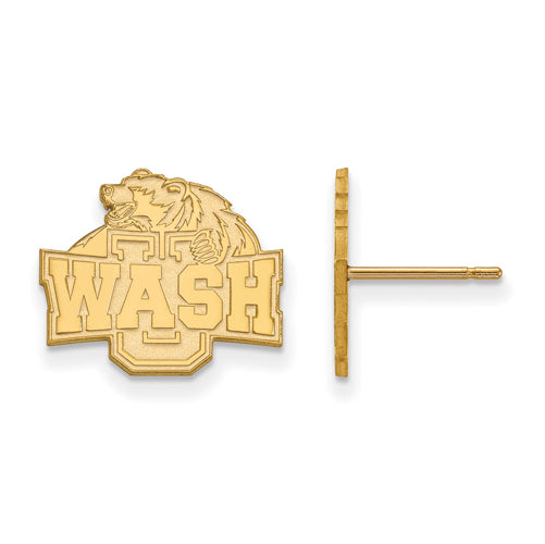 10ky Washington University in St. Louis Small Post Earrings