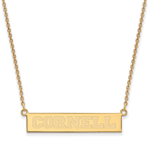 SS GP Cornell University Small Bar Necklace