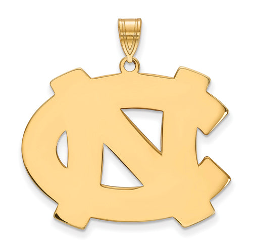 14ky University of North Carolina XL NC Logo Pendant