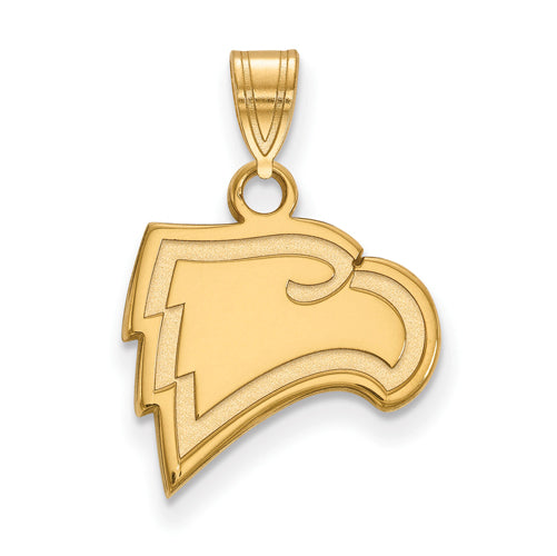 10ky Winthrop University Small Eagle Pendant