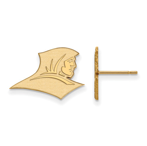 SS w/GP Providence College Small Post Earrings
