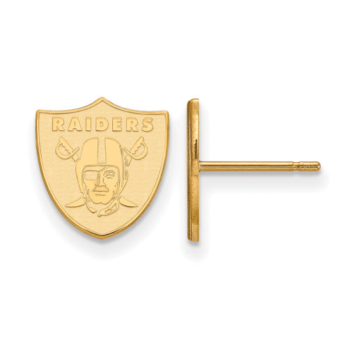 GP Oakland Raiders XS Post Earrings