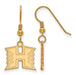 SS w/GP The University of Hawaii Small Dangle Earring