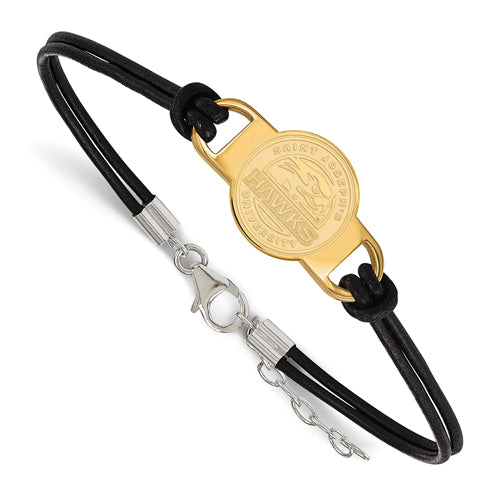SS GP Saint Joseph's University Large Leather Bracelet