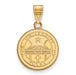 SS w/GP The University of Tulsa Medium Crest Pendant