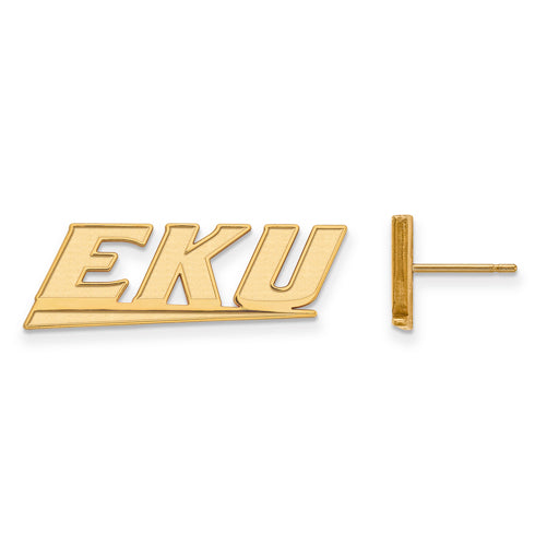 SS w/GP Eastern Kentucky University Small Post EKU Earrings