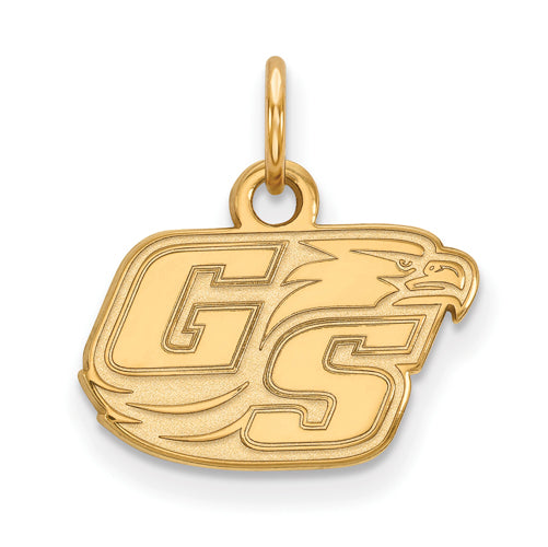 SS w/GP Georgia Southern Univeristy XS GS Eagle Pendant