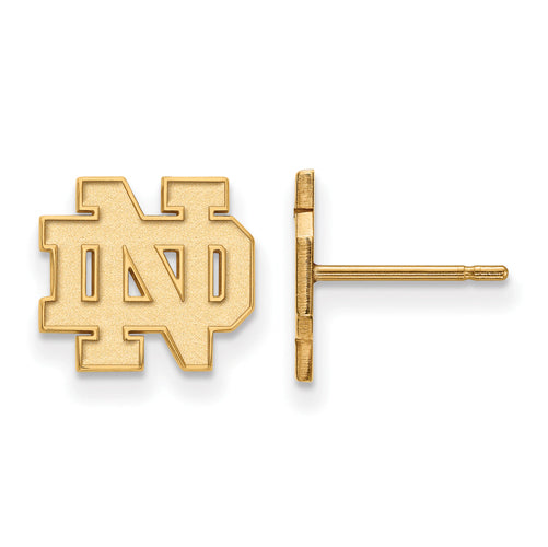 SS GP University of Notre Dame XS Post ND Earrings