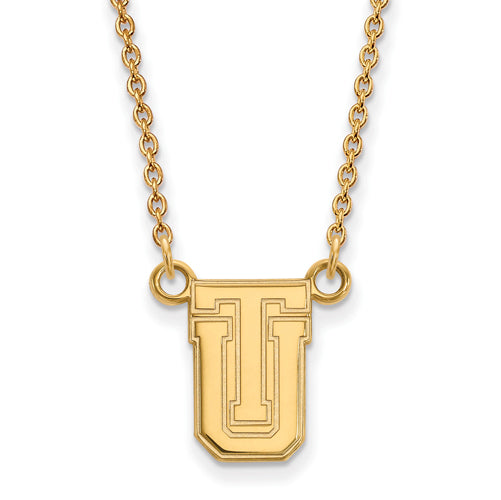 SS w/GP The University of Tulsa Small Pendant w/Necklace
