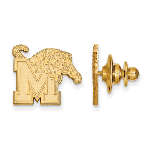 14ky University of Memphis Tigers Lapel Pin