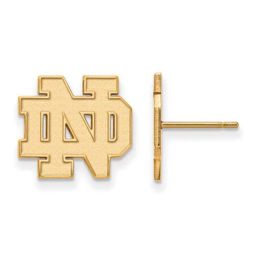 SS GP University of Notre Dame Small Post ND Earrings