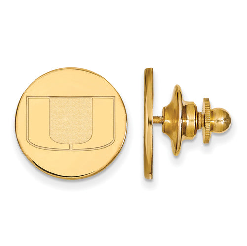 SS w/GP University of Miami Lapel Pin