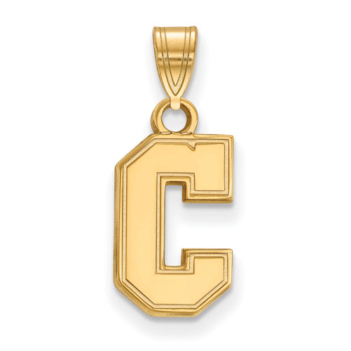 SS w/GP College of Charleston Small Pendant