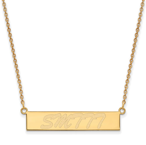 SS GP Southern Mississippi University of Small Bar Necklace