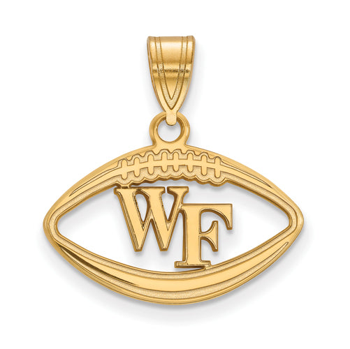 SS w/GP Wake Forest University Pendant in Football