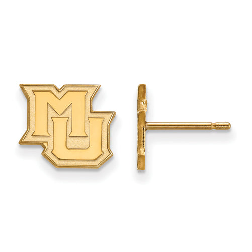 SS w/GP Marquette University XS Alt Athletics Post Earrings