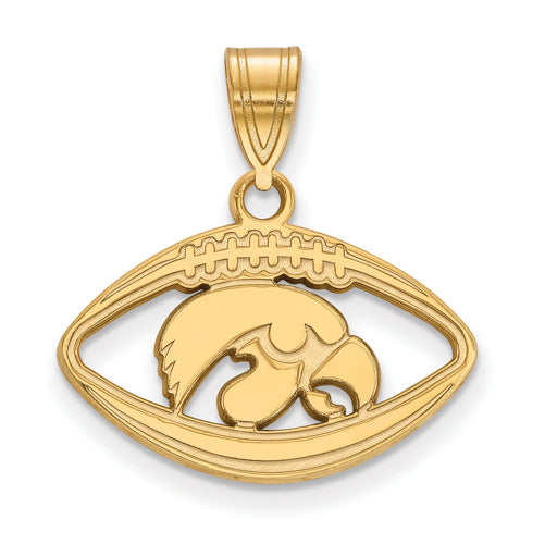 SS w/GP University of Iowa Pendant in Football