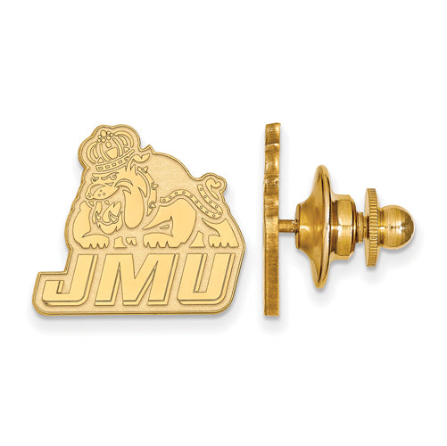 SS w/GP James Madison University JMU Dukes Lapel Pin