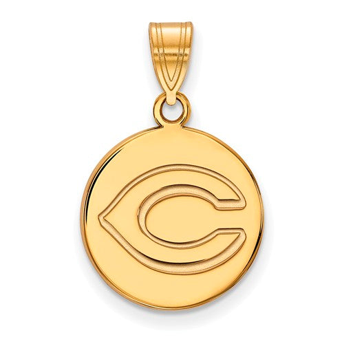 SS w/GP MLB  Cincinnati Reds Medium Disc C Pendant