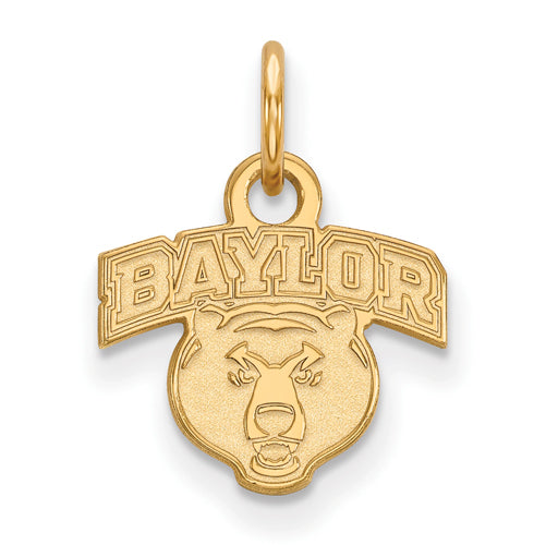 SS w/GP Baylor University XS Head Pendant