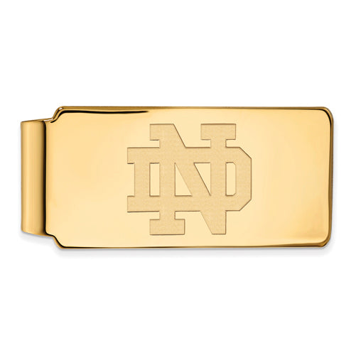 SS GP University of Notre Dame Money Clip