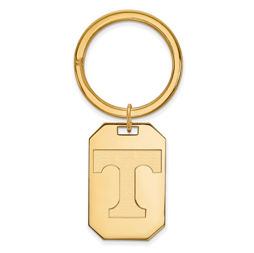 SS w/GP University of Tennessee Volunteers Key Chain