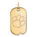 14ky Clemson University Small Dog Tag