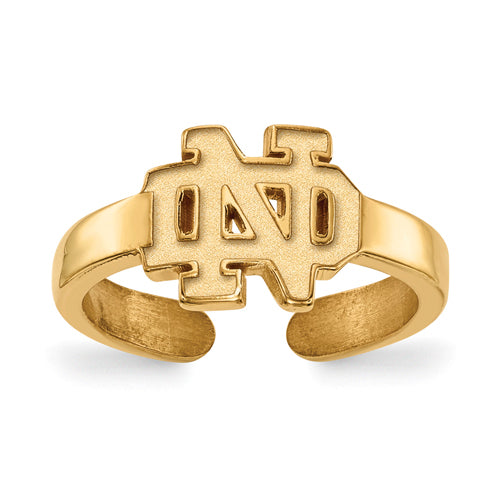 SS GP University of Notre Dame Toe Ring