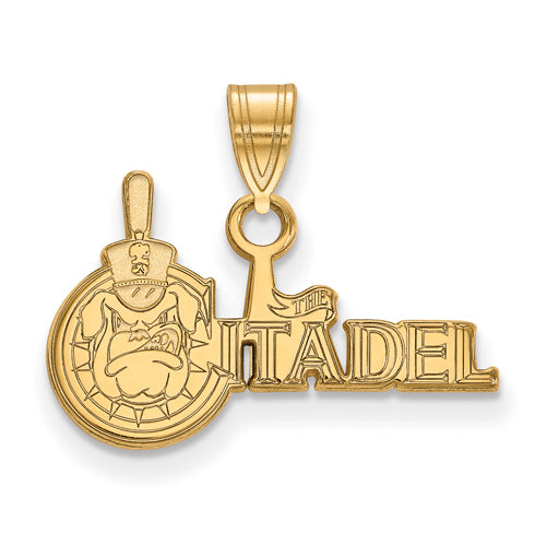 10ky The Citadel Bulldogs Primary Logo Small Pendant