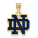 SS GP University of Notre Dame Small Enamel Pendant
