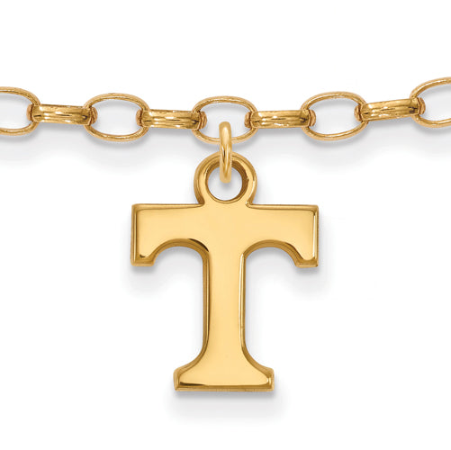SS w/GP University of Tennessee Volunteers Anklet