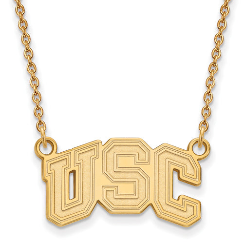 GP University of Southern California Small Pendant w/ Necklace