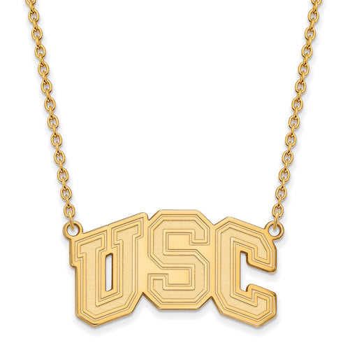 GP University of Southern California Large Pendant w/ Necklace