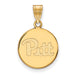 SS w/GP University of Pittsburgh Medium Disc Pendant