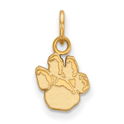 SS w/GP University of Pittsburgh XS Pitt Paw Pendant