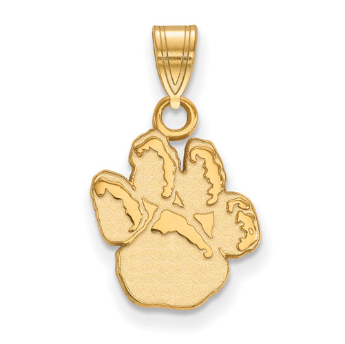 SS w/GP University of Pittsburgh Small Pitt Paw Pendant