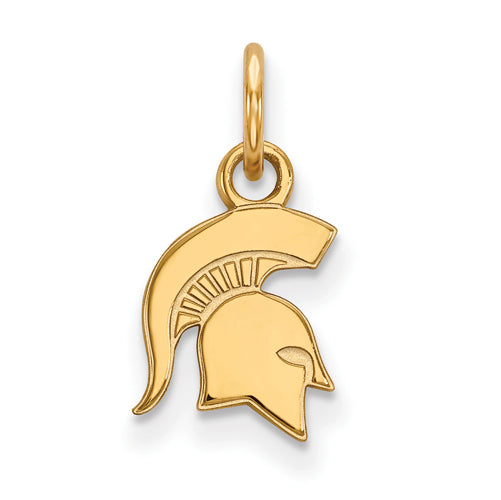 SS w/GP Michigan State University XS Spartans Pendant