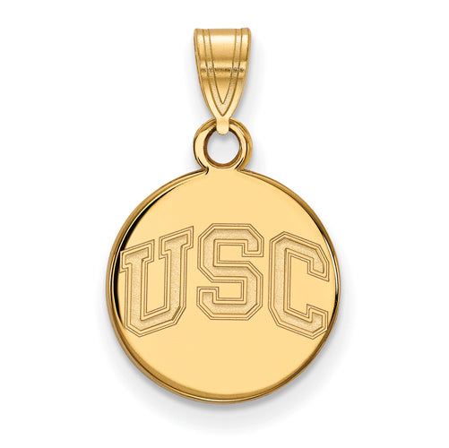GP University of Southern California Small Disc Pendant