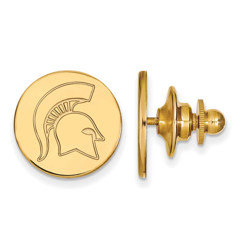 SS w/GP Michigan State University Spartans Lapel Pin