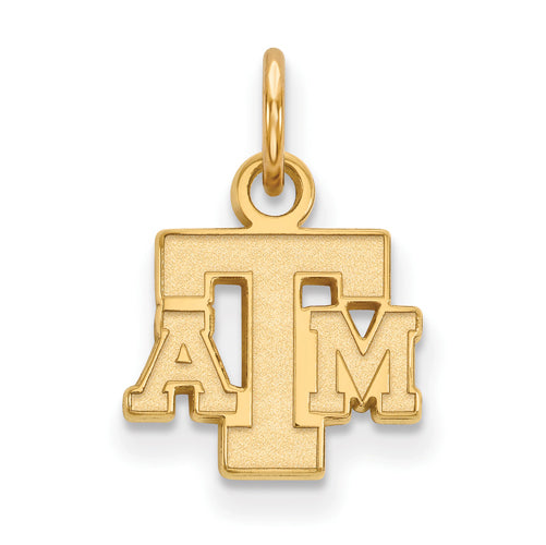 SS w/GP Texas A&M University XS Alternate TAM Logo Pendant