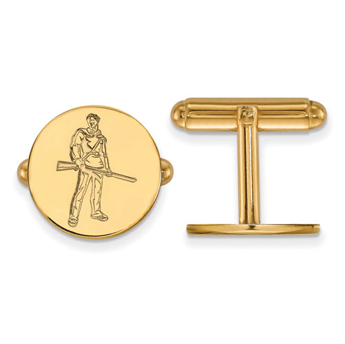 SS w/GP West Virginia University Mountaineer Cuff Links