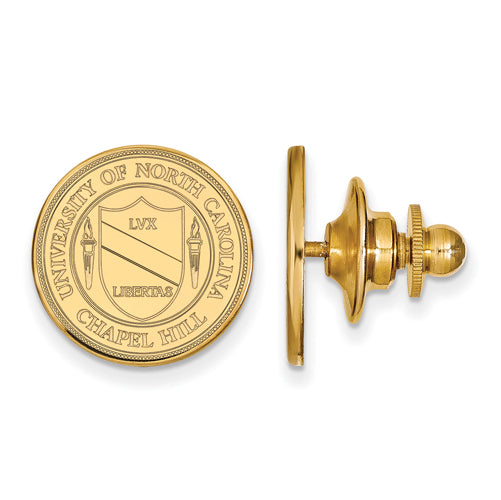 SS w/GP University of North Carolina Crest Tie Tac