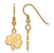 SS GP University of Notre Dame Small Dangle earringsWire