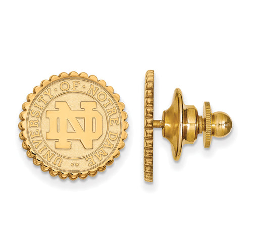 SS GP University of Notre Dame Crest Tie Tac
