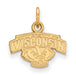 "SS w/GP University of Wisconsin XS Alt ""WISCONSIN"" Badger Pendant"